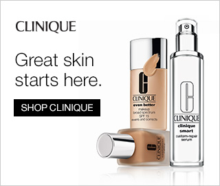 Picture of beauty supplies. Clinique: Great skin starts here. Click to shop Clinique.